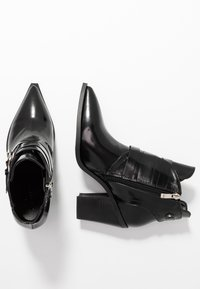 co wren - High heeled ankle boots - black - 3