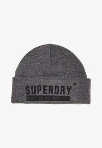 Superdry - SURPLUS  - Beanie - grey marl - 1