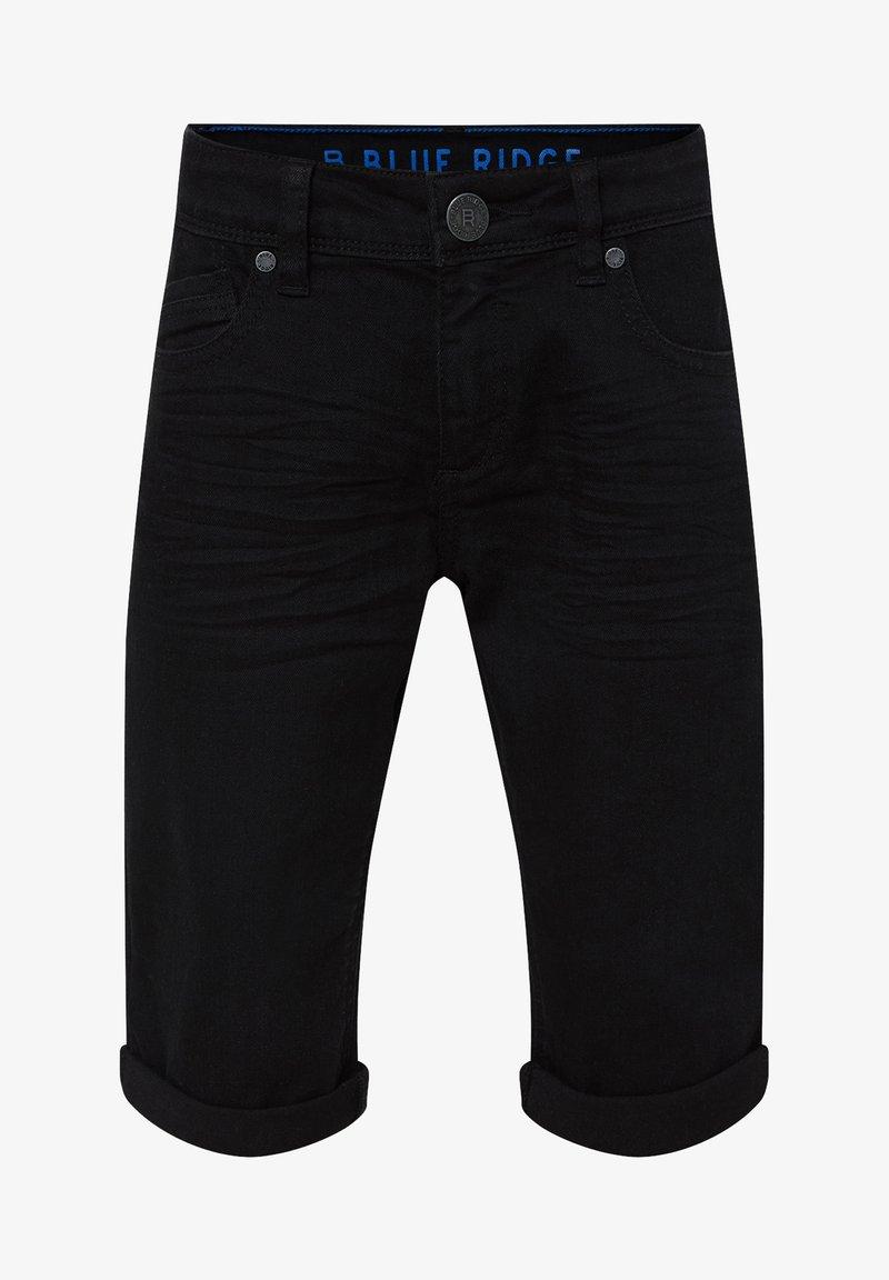 WE Fashion - Denim shorts - black