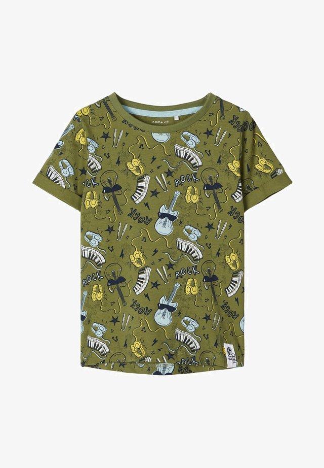 NMMDAROCK  - Camiseta estampada - loden green