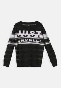 Just Cavalli - Svetr - black/white - 0
