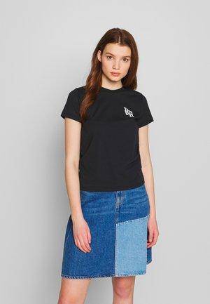 BENJAMIN - T-shirts med print - faded black