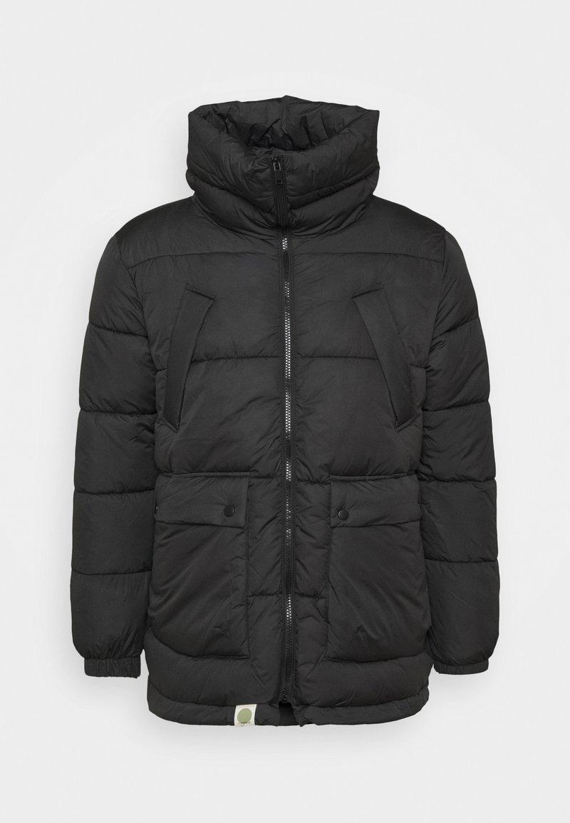 Nagev - Zimní kabát - black