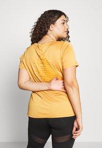 Active by Zizzi - AMAYS - Camiseta estampada - olden yellow - 2