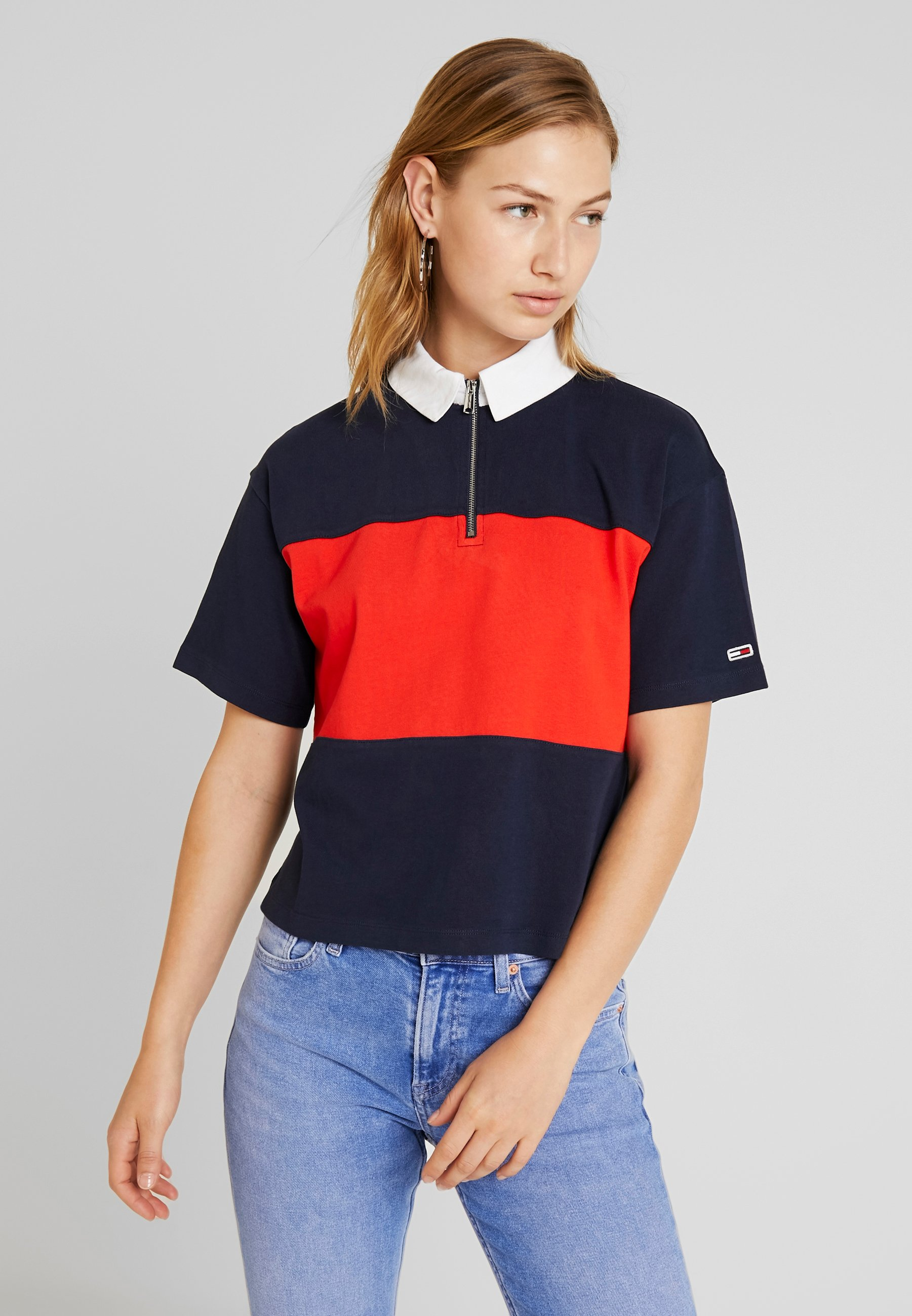 Tommy Jeans Femme Bold Stripe Polo Polo
