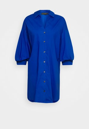 CHILLYKB LONG - Button-down blouse - twilight blue