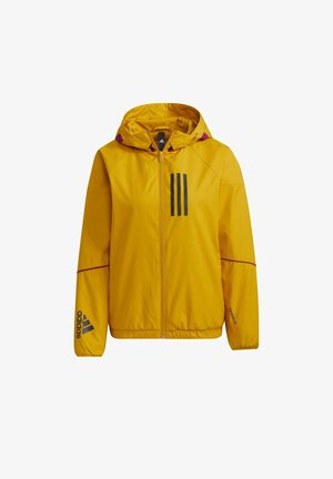 ADIDAS W.N.D. WARM JACKET - Outdoor jakke - gold