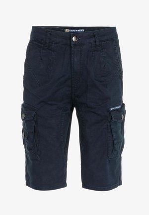 Cargo trousers - navyblue