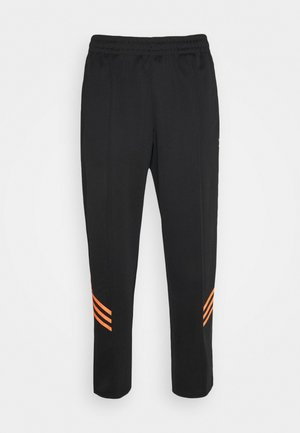TRACK PANT UNISEX - Pantalon de survêtement - black/trace orange