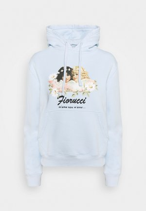 DAISY ANGELS HOODIE - Mikina - pale blue