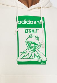 adidas Originals - HOODIE KERMIT UNISEX - Sweat à capuche - off-white - 3