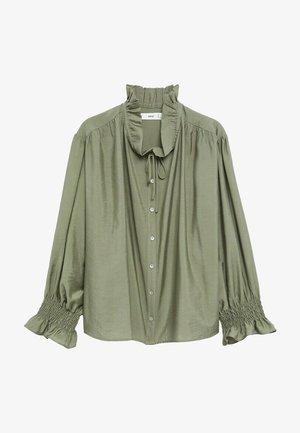 RUDOLPH - Button-down blouse - green