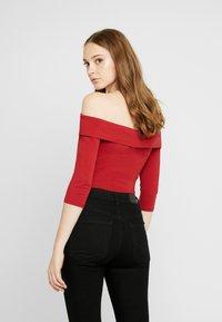 Even&Odd - BODYSUIT - Long sleeved top - red - 2