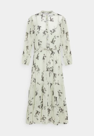 CELESTE - Shirt dress - desert sage