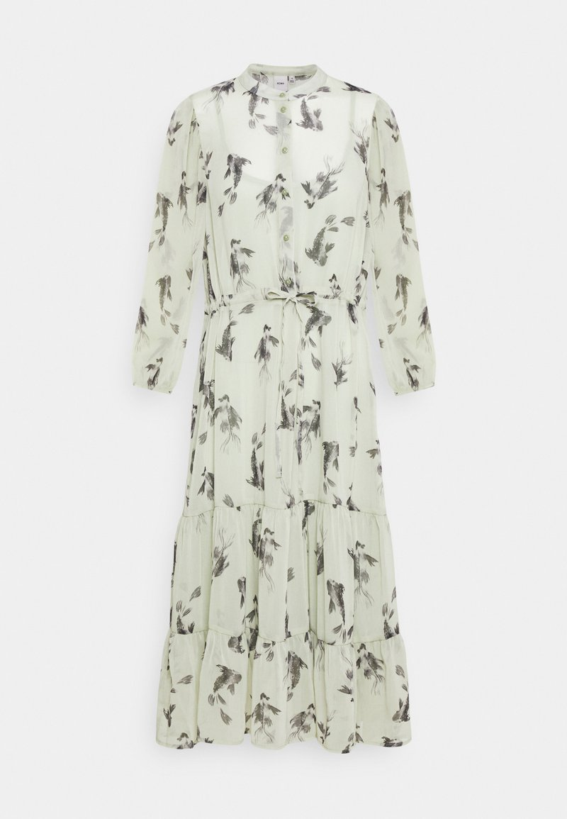 ICHI - CELESTE - Shirt dress - desert sage