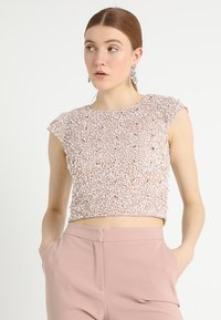 Lace & Beads - PICA  - Bluse - nude - 0