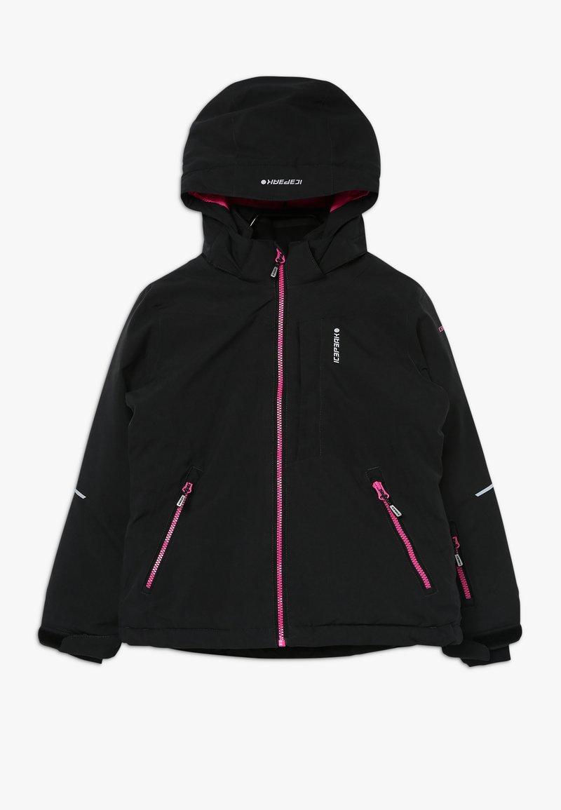 Icepeak - LEEDS - Lyžařská bunda - black melange