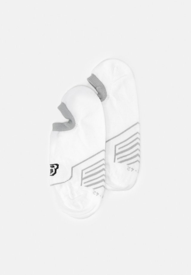 CUSHIONED FOOTIES 6 PACK - Trainer socks - white