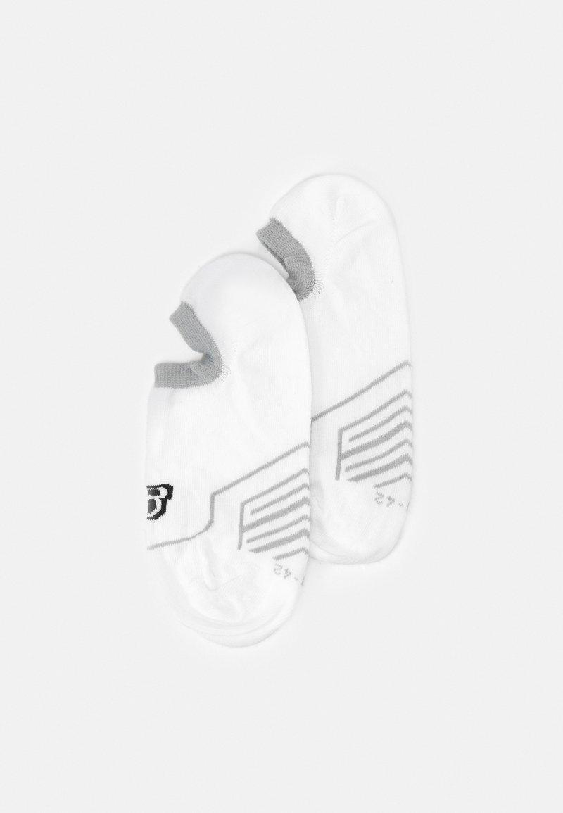 Skechers - CUSHIONED FOOTIES 6 PACK - Trainer socks - white