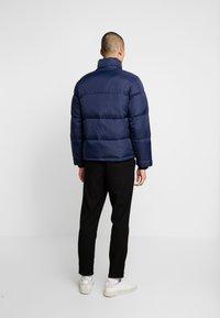 Hollister Co. - PUFFER HOOD  - Winter jacket - navy - 3