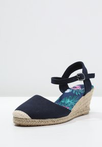 Anna Field - Wedge sandals - navy - 2