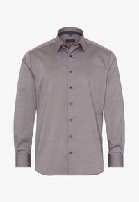 Eterna - FITTED WAIST - Formal shirt - beige brown - 4