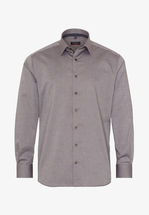 FITTED WAIST - Formal shirt - beige brown