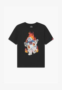 Element - GHOSTBUSTERS X ELEMENT INFERNO BOY - Print T-shirt - flint black - 0