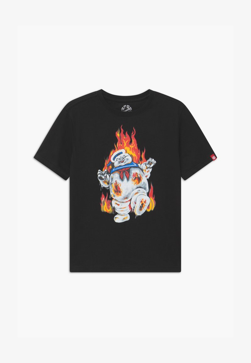 Element - GHOSTBUSTERS X ELEMENT INFERNO BOY - Print T-shirt - flint black