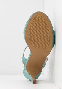 Mariamare - Sandály na vysokém podpatku - mint - 6