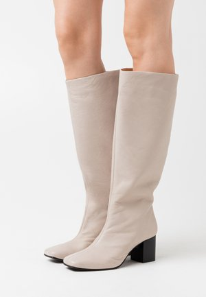 SLFZOEY HIGH SHAFTED BOOT - Vysoká obuv - light gray