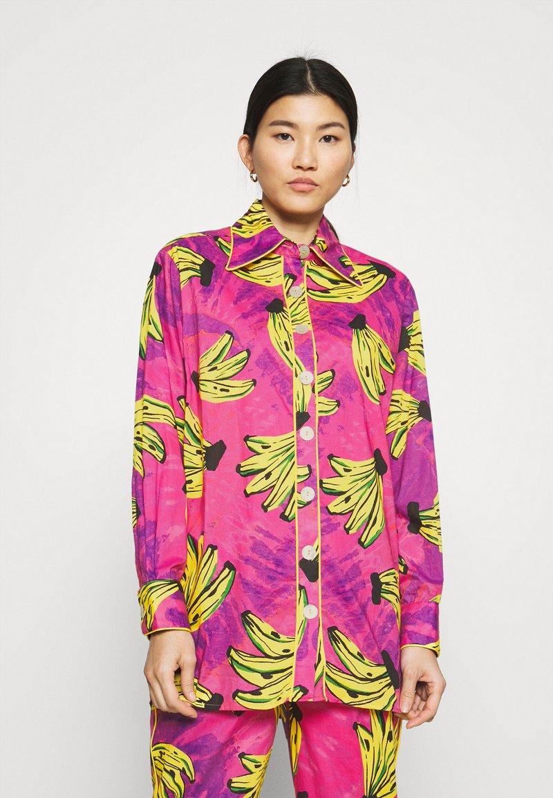 Farm Rio - TIE DYE BANANAS PAJAMA - Button-down blouse - multi