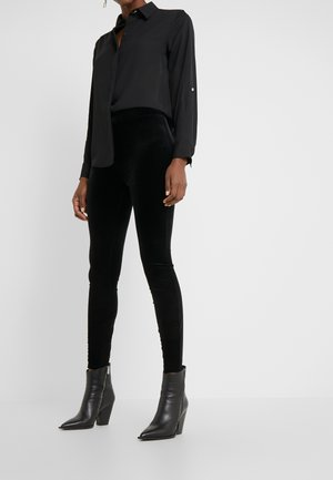 VELVET  - Leggings - Trousers - black