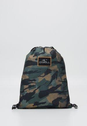 GYM SACK - Treningsbag - green/black