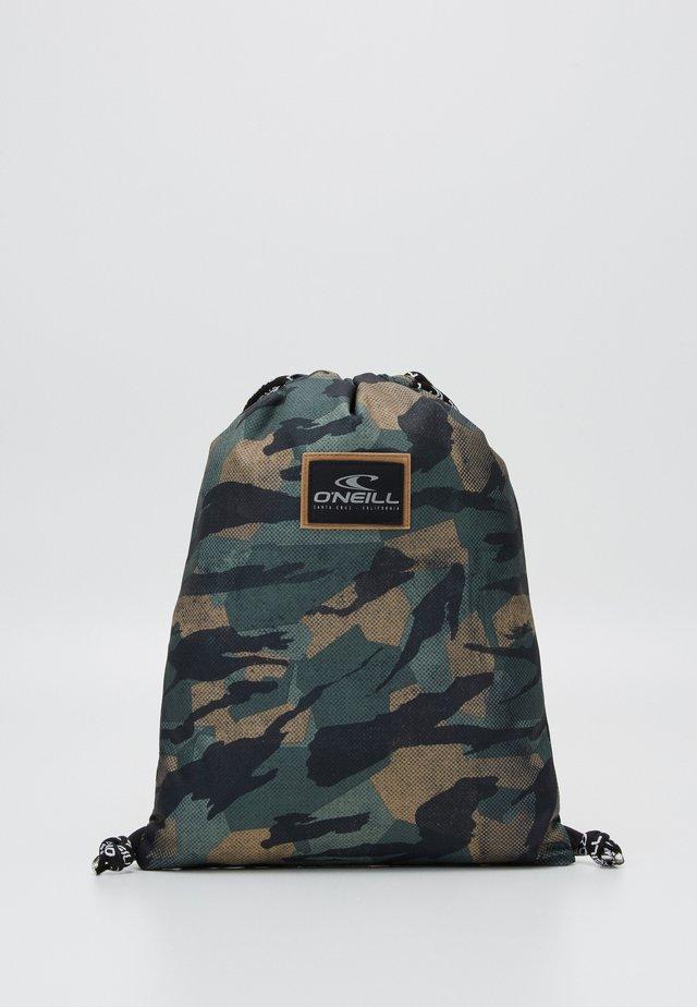 GYM SACK - Sportovní taška - green/black