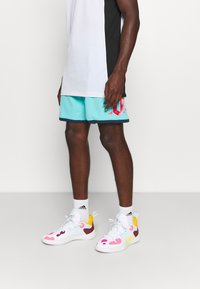 adidas Performance - DAME ROLAND GARROS DAMIAN LILLARD SIGNATURE AEROREADY WARMING - Pantaloncini sportivi - pulse aqua - 0