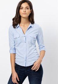zero - Button-down blouse - fresh blue - 0