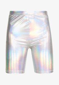 American Eagle - IRIDESCENT  - Shorts - silver - 4