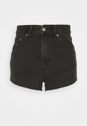 SKYE - Jeansshorts - charcoal black