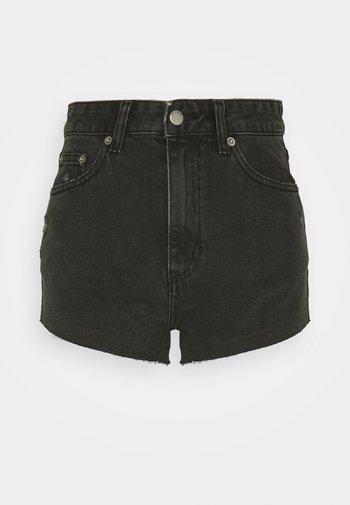 SKYE - Denim shorts - charcoal black