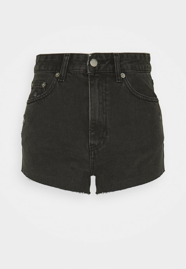 SKYE - Shorts di jeans - charcoal black