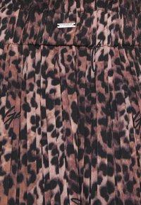 Guess - PHOENIX SKIRT - A-line skirt - brown - 2