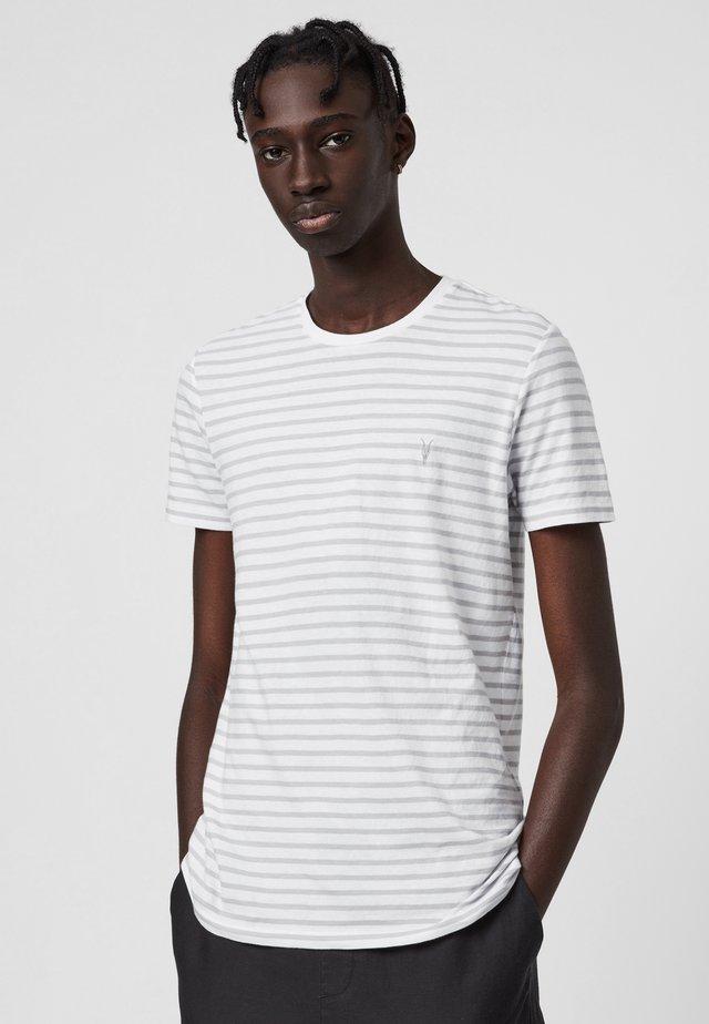TONIC STATUS - T-shirt con stampa - white