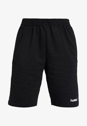 HMLGO BERMUDA - Sports shorts - black