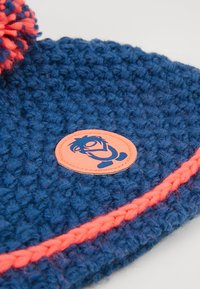 TrollKids - GIRLS HEMSEDAL BOBBLE CAP - Gorro - midnight blue/coral - 3