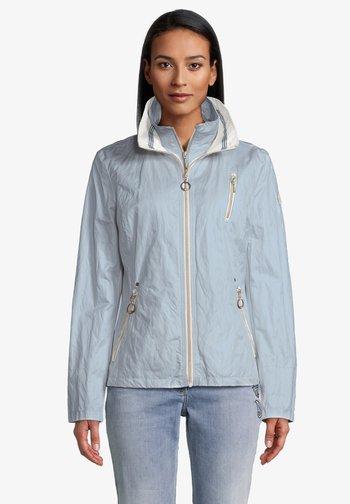 2 IN 1  - Light jacket - dusty blue