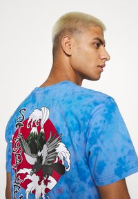 STAPLE PIGEON - LOGO TEE UNISEX - Print T-shirt - blue - 3