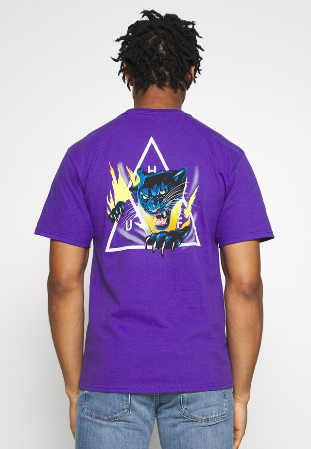 JUNGLE CAT TEE - Printtipaita - grape