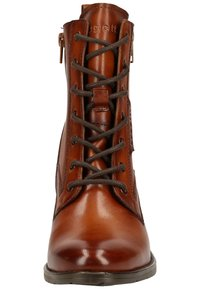 Bugatti - Lace-up ankle boots - cognac - 5
