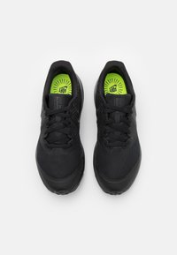 Nike Performance - STAR RUNNER 2 UNISEX - Neutral running shoes - black/anthracite/volt - 3